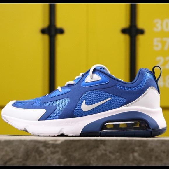 NEW Nike Air Max 200 Pacific Blue Sneaker /